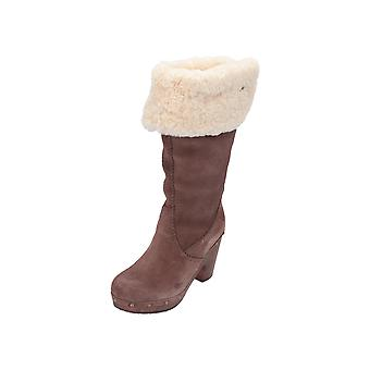 UGG Lillian Women's Boots Brown Lace-Up Boots Winter
