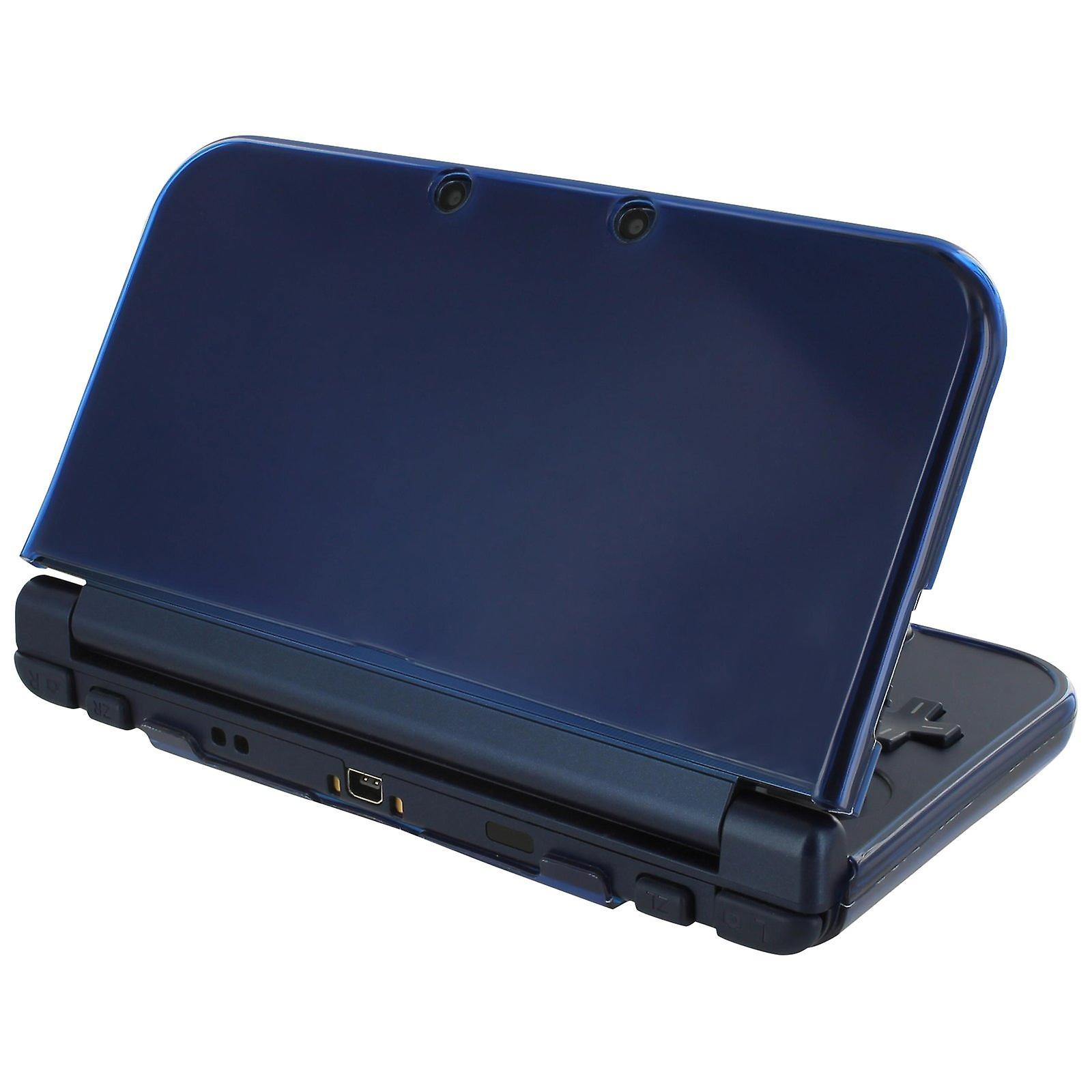 Zedlabz soft gel protective armor tpu case for new 3ds xl - frosted royal blue