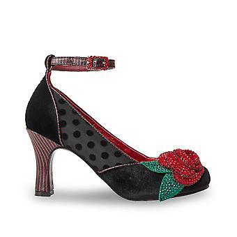 Joe Browns Couture kvinnor ' s Senorita Crystal Rose fotled rem sko