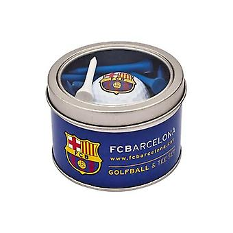 Barcelona-Ball & Tee-Set