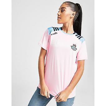 New O'Neills Women's Dublin GAA Dawson Short Sleeve Shirt Pink