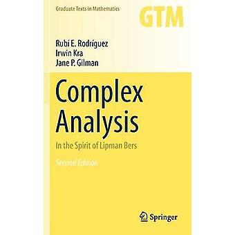 Complex Analysis by Rodriguez & Rubi E.Kra & IrwinGilman & Jane P.