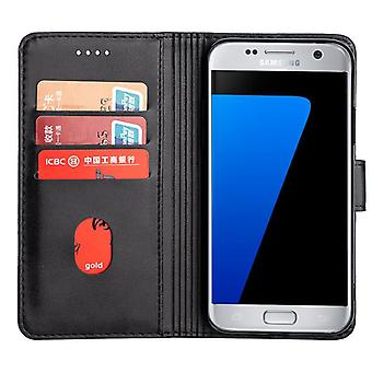 CaseGate phone case case cover for Samsung Galaxy S7 case cover - lock, stand function and card compartment