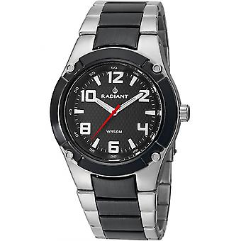 Radiant new crossback Quartz Analog Man Watch with RA318201 Stainless Steel Bracelet