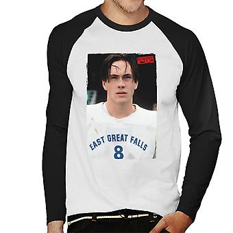 American Pie Oz East Great Falls Lacrosse Men's Baseball Long Sleeved T-Shirt