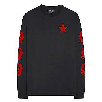 Che Guevara T Shirt Revolution Logo new Official Black Long Sleeve Unisex