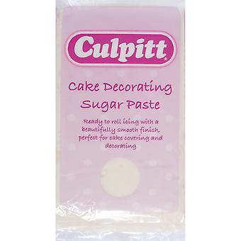 Culpitt cake versieren Sugar paste ivoor 1 X 1kg-single