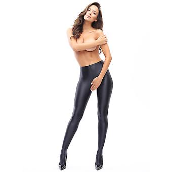 Miss O Opaque Gloss Open Gusset Tights