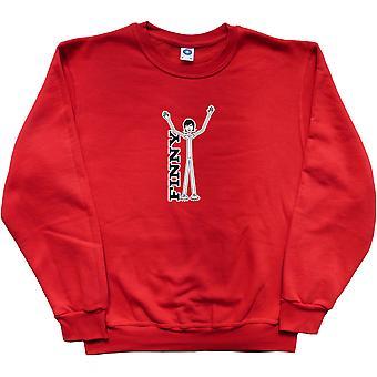 Steve Finn Red Sweatshirt