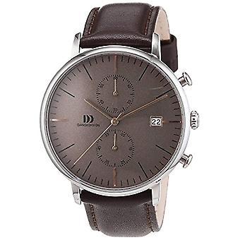 Reloj de pulsera de cuarzo para hombre-cuero de diseño danés 3314507