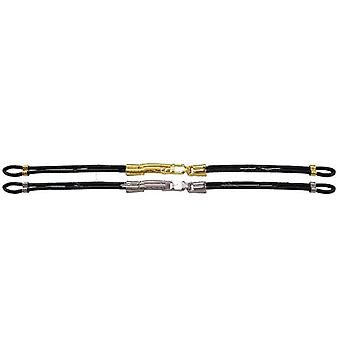 Cordette watch strap with clasp