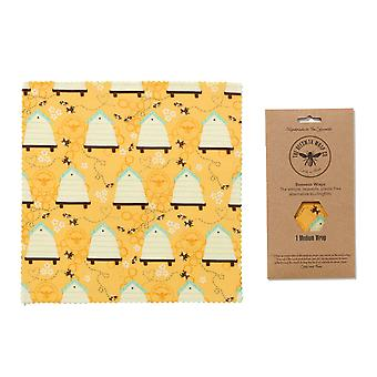 Beeswax Wrap Single Medium, Multi Coloured