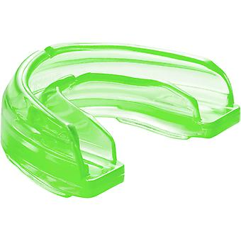 Shock Doctor Braces Strapped Mouthguard - Green