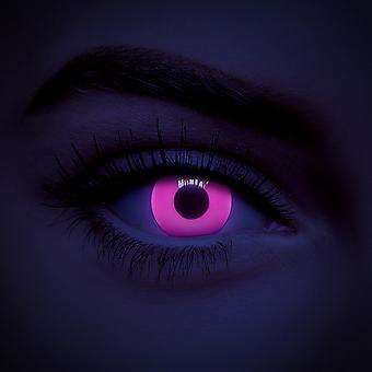 Pink UV i-Glow Colored Contact Lenses (Daily)