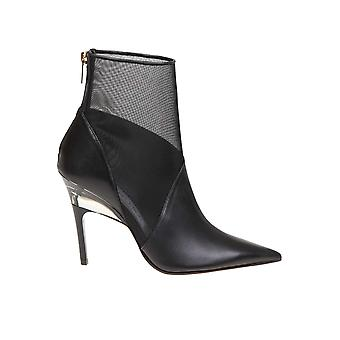 Jimmy Choo Sioux100nms Women's Black Leather Ankle Boots