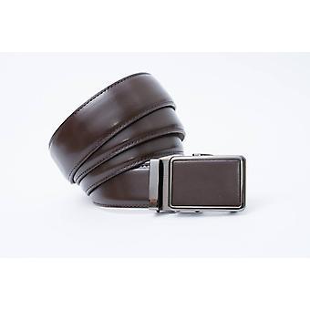 Brauner Herrengürtel / Pantalongürtel