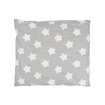 Sängset Finja, grå, 135x100 cm
