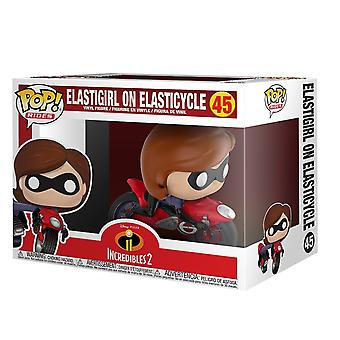 Funko Disney Rides The Incredibles 2 Elasticycle Verzamelbare Figuur #45