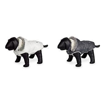 ノビーの極フード付き犬のコート