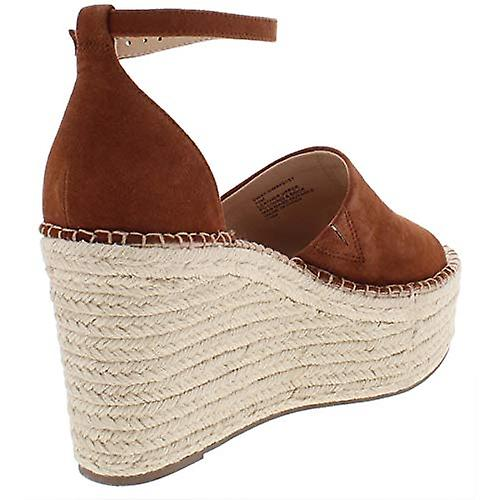 Steve Madden Womens Sway Skórzane Sandały Brown 10 Medium (B, M) DXUjz