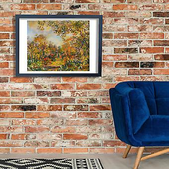 Pierre Auguste Renoir - Paysage e Beaulieu Poster impressão giclée