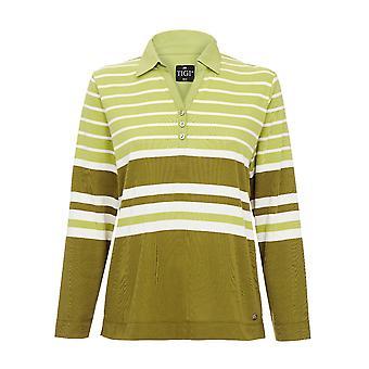 TIGI Stripe Polo Perenshirt