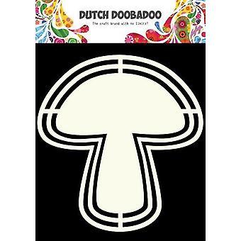 Dutch Doobadoo Dutch Shape Art frames mushroom A5 470.713.124