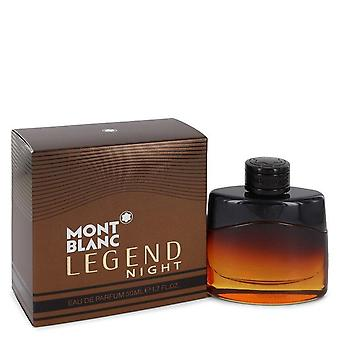 Montblanc Legend Night Eau De Parfum Spray av Mont Blanc 1.7 oz Eau De Parfum Spray