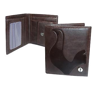 Tottenham Hotspur FC Official Football Gift Luxury Brown Faux Leather Wallet