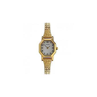 Sekonda Ladies Mother Of Pearl Dial Gold Expander Bracelet Watch 4265