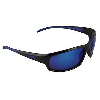 Óculos de Sol Homens Polaroid Sport - Preto/Azul com brillenkokerS329_5 grátis