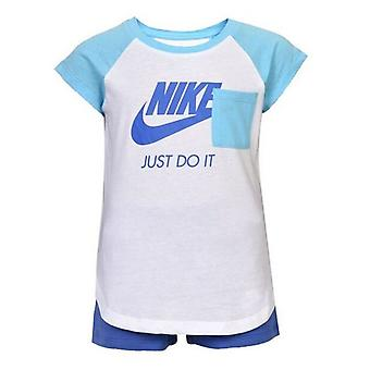 Sport Outfit für Baby Nike 919-B9A Blau Weiß/12 Monate