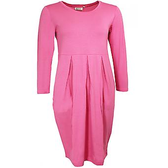 Masai Clothing Holly Flamingo Pink Jersey Dress