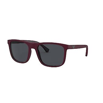 Emporio Armani EA4129 575187 Matte Bordeaux/Grey Glasses
