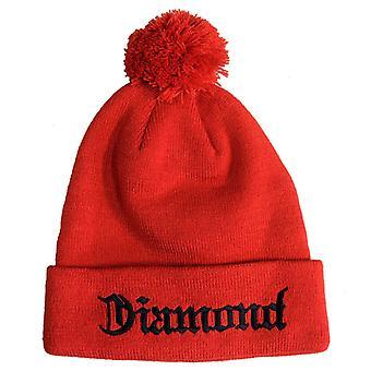 Diamond Supply Co Diamond 4 Life Beanie Red