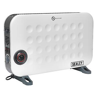 Sealey Cd2013Tt Convector Heater 2000W/230V With Turbo And Timer