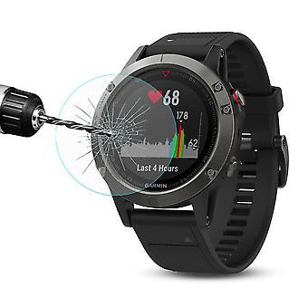 2.15D 0,2 mm H9 Hart Glas Schock Folie für Garmin Fenix 5 Smart Watch Schutz Zubehör Glas