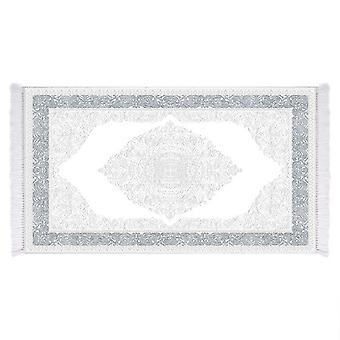 Oval 2 Multicolor bedrucktteppich in Micro Printed Polyam, L80xP120 cm