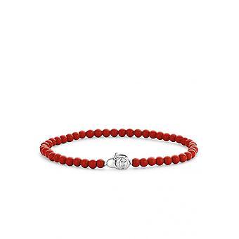 Bracelet Ti Sento 2908CR - argent pierres synth. Rouge Femme