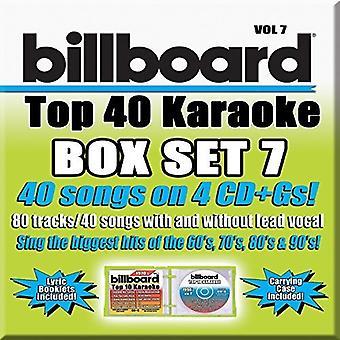 Party Tyme Karaoke: Billboard Top 40 Boxset 7 / Va - Party Tyme Karaoke: Billboard Top 40 Boxset 7 / Va [CD] USA import