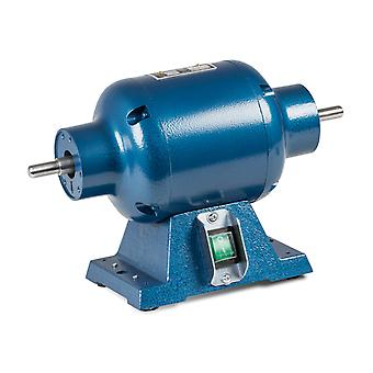 Milbro Polishing Motor 1/2hp, Includes Spindles, 2800 Rpm