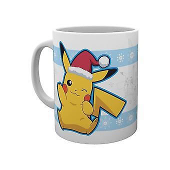 Pokémon, Caneca - Pikachu Santa Natal