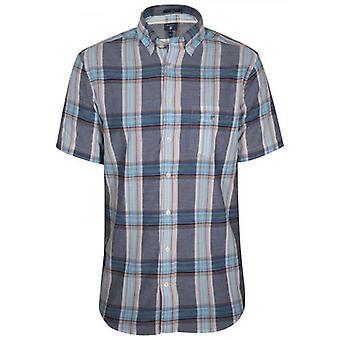 GANT Persian Sininen Tarkista Regular Lyhythihainen paita