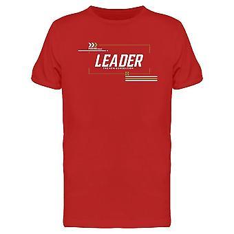 Moving Forward Leader Tee Men's -Imagen de Shutterstock
