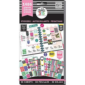 Happy Planner Sticker Value Pack-Everyday - Klassiek, 1486/Pkg