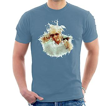 Paul Newman på Cannes Film Festival 1987 mäns T-Shirt