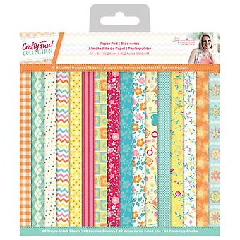 Crafter's Companion Crafty Fun 6x6 Inch Paper Pad
