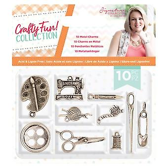 Crafter's Companion Crafty Fun Metal Charms