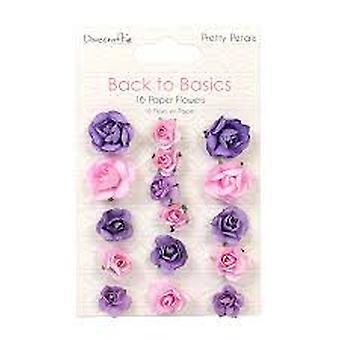 Dovecraft العودة إلى أساسيات جميلة بتلات ورقة الزهور