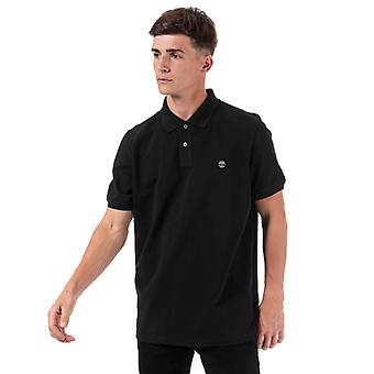 Men's Timberland Miller Rivers Polo Shirt in Black